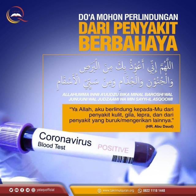 Doa Mohon Perlindungan dari Penyakit Berbahaya-Takrimul Quran