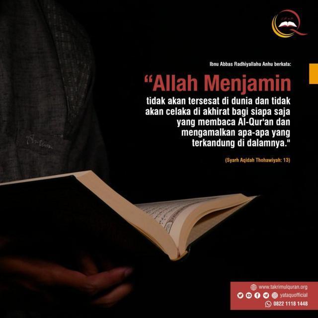 Alloh Menjamin Takrimul Quran